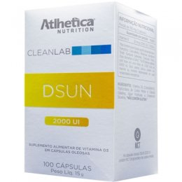 CleanLab DSun Vitamina D3 2000UI (100 softgels)